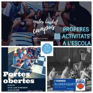 PROPERES ACTIVITATS A LESCOLA (1)
