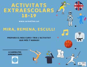 ACTIVITATS EXTRAESCOLARS 18-19 (xarxes) (1)