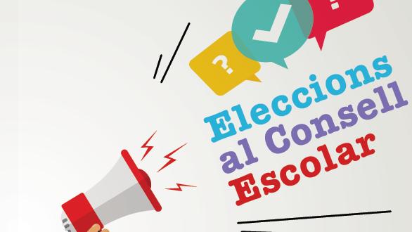 EL DIJOUS 29 DE NOVEMBRE,  VOTEM A LES ELECCIONS DEL CONSELL ESCOLAR